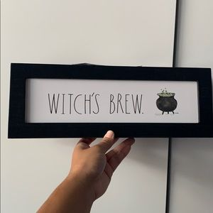 Witch's brew sign